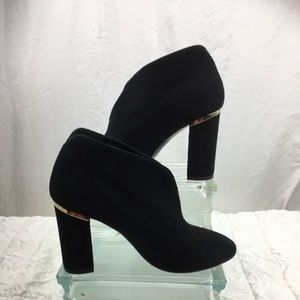 Kate Spade suede ankle bootie